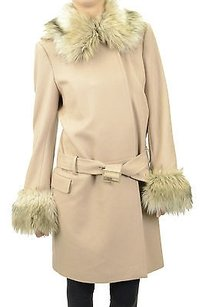 Juicy Couture Camel Solid Coat