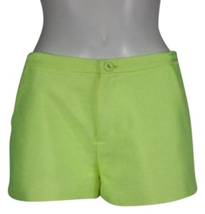 Juicy Couture Womens Shorts Neon Yellow