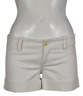 Juicy Couture Womens Casual 0 Pants Walking Shorts White
