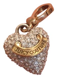 Juicy Couture Limited juicy couture rinestone heart charm