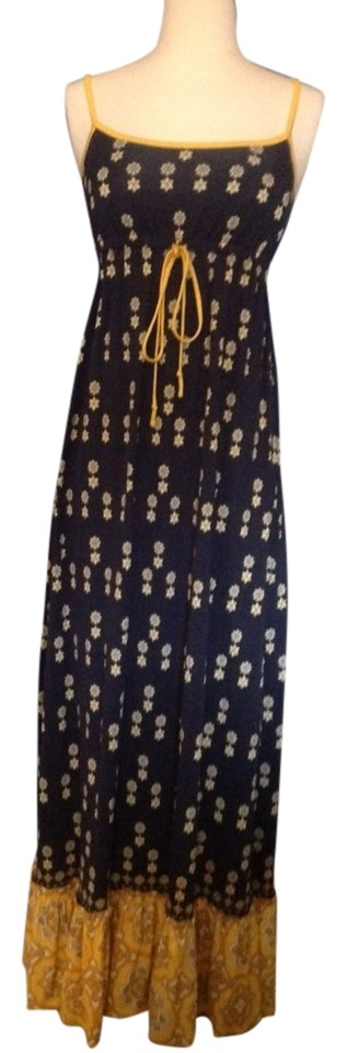 Juicy couture vintage scarf maxi dress