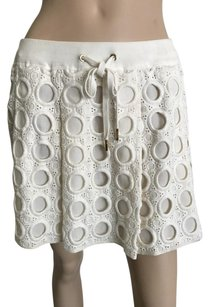Juicy Couture Mini Skirt Ivory
