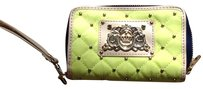 Juicy Couture Studded Neon Quilted Tech Wristlet