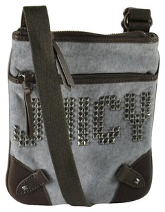 Juicy Couture Studded Punk Swingpack Cross Body Bag