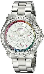 Juicy Couture Womens Juicy Couture 1901275 Stella Silver Tone Steel Watch