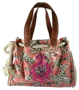 Juicy Couture Xl Coated Canvas Daydreamer Tote in Coral