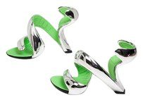 JULIAN HAKES MOJITOS Mojito SILVER CHROME Pumps