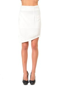 Just Cavalli Asymmetrical Skirt White