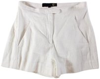 Just Cavalli Casual Shorts Cream