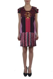 Just Cavalli short dress Multi-Color Shift on Tradesy
