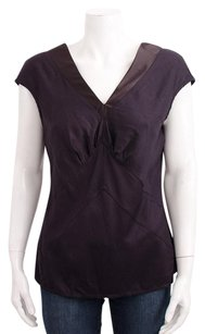 Just Cavalli Burgundy Top Purple