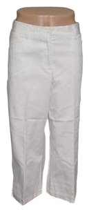 Karen Kane Capri/Cropped Pants White
