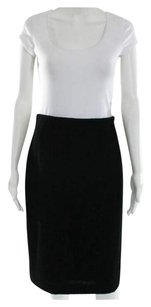 Karl Lagerfeld Vintage Straight Made In Germany Pencil Kl By Skirt Black