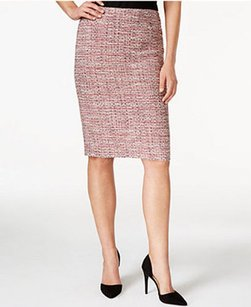Kasper 10585627 New With Tags Pencil Skirt Red