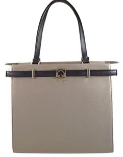 Kate Spade Leather Demarco Tote in Gray
