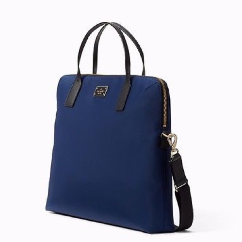 Kate Spade Blake Avenue Daveney Computer Briefcase Crossbody Navy