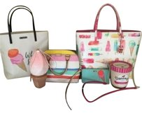 Kate Spade Ice Cream Items Tote in multi