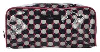 Kate Spade Kate Spade Ny Womens Pink Cosmetic Bag Purse Polka Dot Handbag