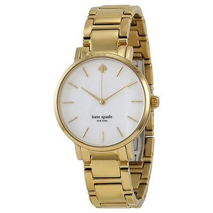 Kate Spade Kate Spade Gramercy Mother Of Pearl Dial Gold-plated Ladies Watch