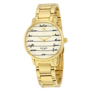 Kate Spade Kate Spade Metro Vachetta Cream Dial Ladies Watch
