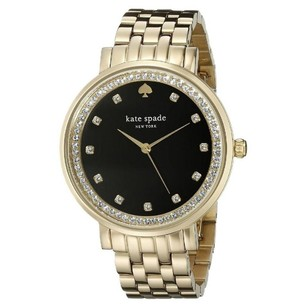 Kate Spade kate spade new york Women's Monterey Gold-Tone Bracelet Watch