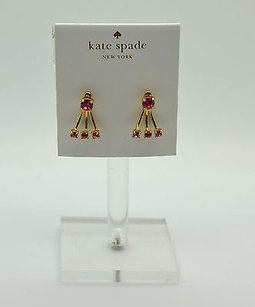 Kate Spade Kate Spade Pink Dainty Sparklers Stud Earrings