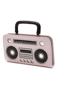 Kate Spade Kate Spade Pink Leather Boombox Adelina Zip Around Wallet