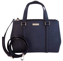 Kate Spade Loden Tote Saffiano Leather Satchel in Black