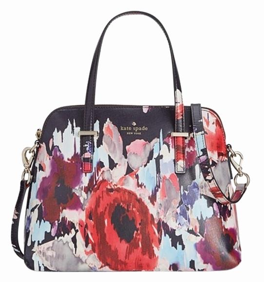 Kate Spade New Floral Painted Maise Shoulder Bag | Shoulder Bags On Sale At Tradesy