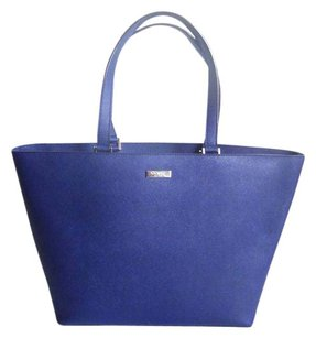 Kate Spade Saffiano Leather Tote in French Navy