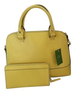Kate Spade Satchel in Limoncello Yellow