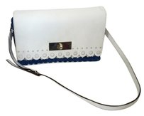 Kate Spade Satchel in white and blue