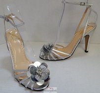 Kate Spade Italy Silver Pumps