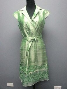 Kay Unger short dress Green York Cap on Tradesy
