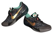 KD FLYWIRE ZOOMS BLK/TEAL/GRAY/GOLD Athletic