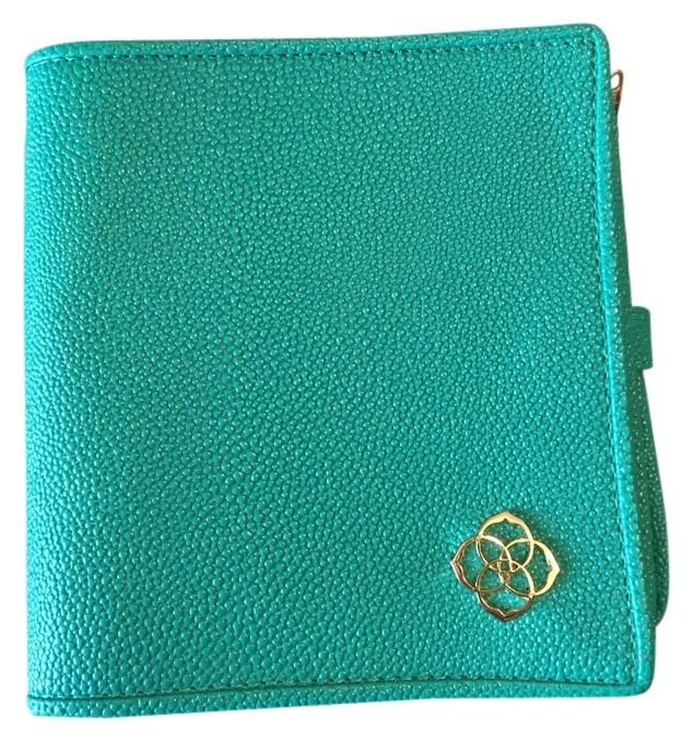 Kendra Scott Zip Away Small Jewelry Organizer Turquoise Faux