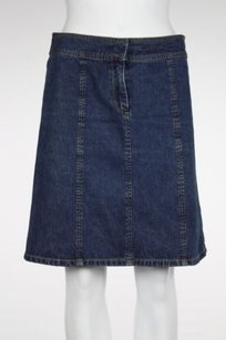 Kenneth Cole Womens Wash Skirt Blue