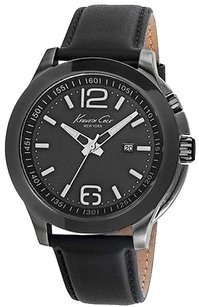 Kenneth Cole Kenneth Cole York Leather Strap Mens Watch 10022558