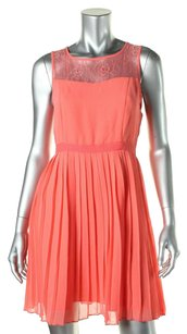 Kensie short dress coral on Tradesy