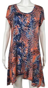 Kensie short dress Orange Womens Printed on Tradesy