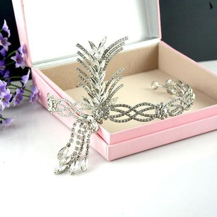 Leaf And Tassel Modern Tiara