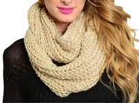 Khosi Clothing & Accessories Extra Thick Winter Crochet Knit Infinity Wrap Shawl Scarf