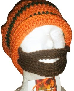 Khosi Clothing & Accessories Men's Bearded Crochet Ski Beanie Cap Hat