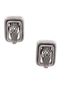 Kieselstein-Cord Barry Kieselstein-cord Sterling Silver Alligator Clip-on Earrings