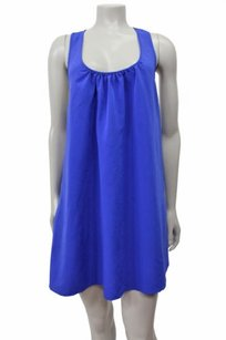 Kimchi Blue short dress Royal Blue Urban Outfitters Braided Crochet Back Tunic on Tradesy