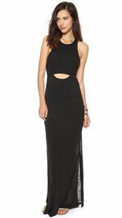 Black Maxi Dress by Knot Sisters Illusion