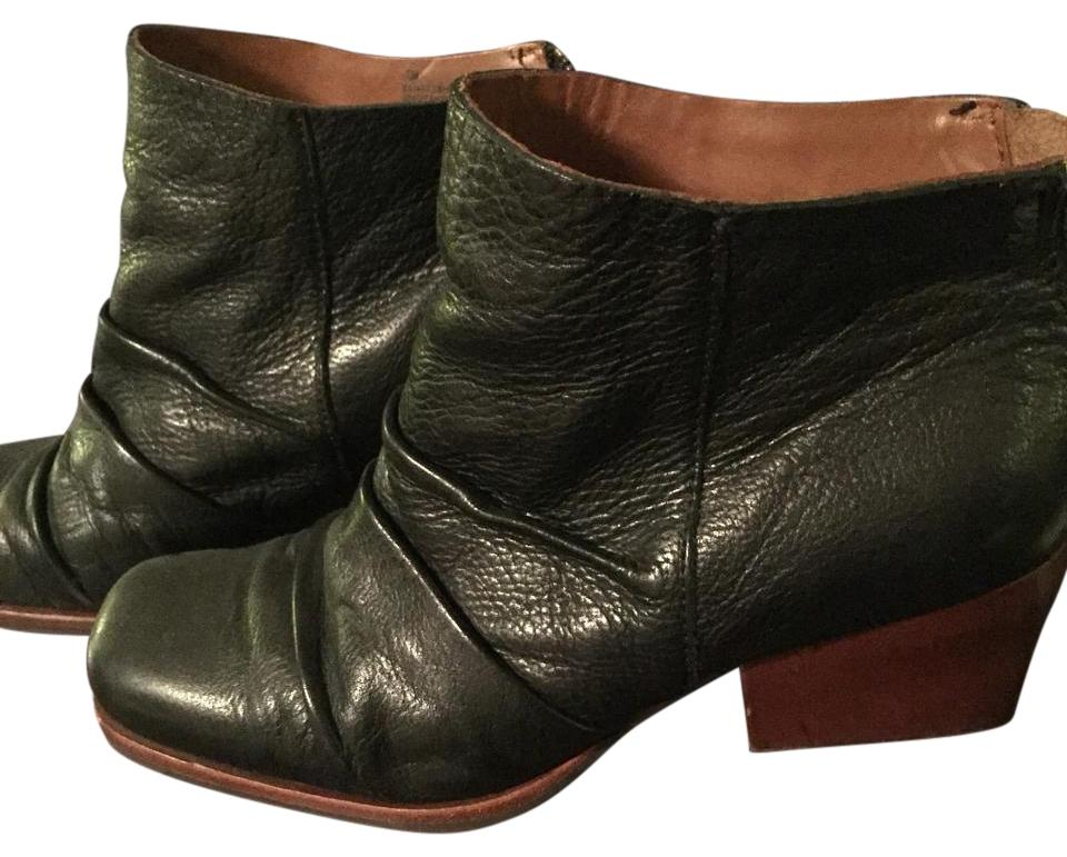 kork ease black with brown heel boots on sale 68