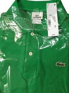 Lacoste 100% Genuine Button Down Shirt chlorophyll green