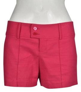 Lacoste Textured Casual Shorts Pink