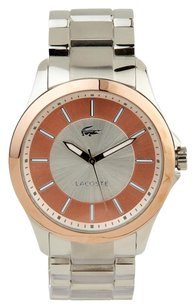 Lacoste Lacoste Sofia Silver and Pink Dial Stainless Steel Ladies Watch 2000704
